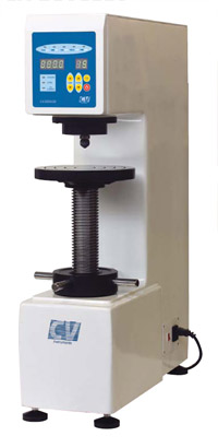 Ready-to-test digital Brinell tester with closed loop controlled load application