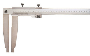 Solid Slider Large Workshop Vernier Caliper 152 Series