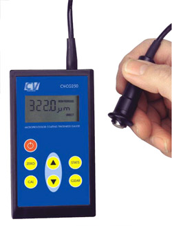 Basic model portable gauge with external probe