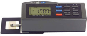 Handheld, simple to operate surface roughness tester